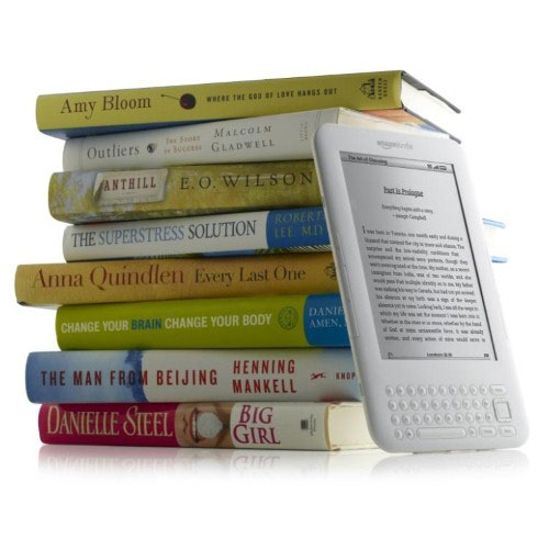 Combination of print and electronic books beneficial