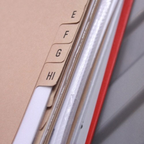 Custom folders can give businesses a personalized touch